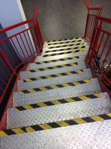 CycleSurgery Fulham stairway