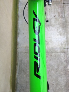 Merlin Excalibur top tube