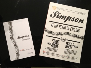 Simpson magazine and flyer
