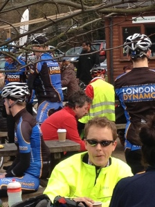 john torode outside richmond park cafe