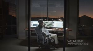 jonathan vaughters in garmin control room