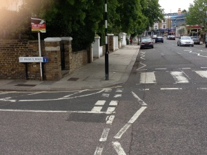 Lonsdale Road and St Hilda's Road