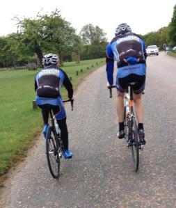 russell short and martin garrett riding
