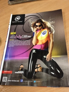 assos lady ad in cycle sport magazine