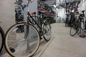 Bike parking bike racks