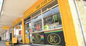 brixton cycles shopfront